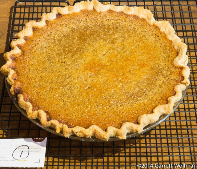 David Page and Barbara Shinn's Honey Pumpkin Pie