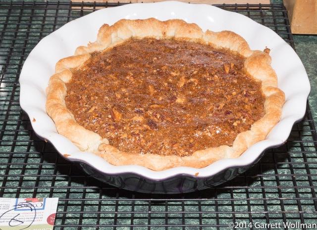 Moosewood's Pecan Pumpkin Pie (pecan layer)
