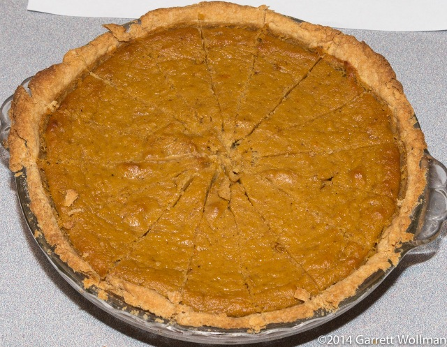 Sue Felshin's Scratch Pumpkin Pie