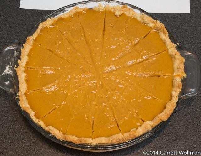 Jason Miller's Pumpkin Pie
