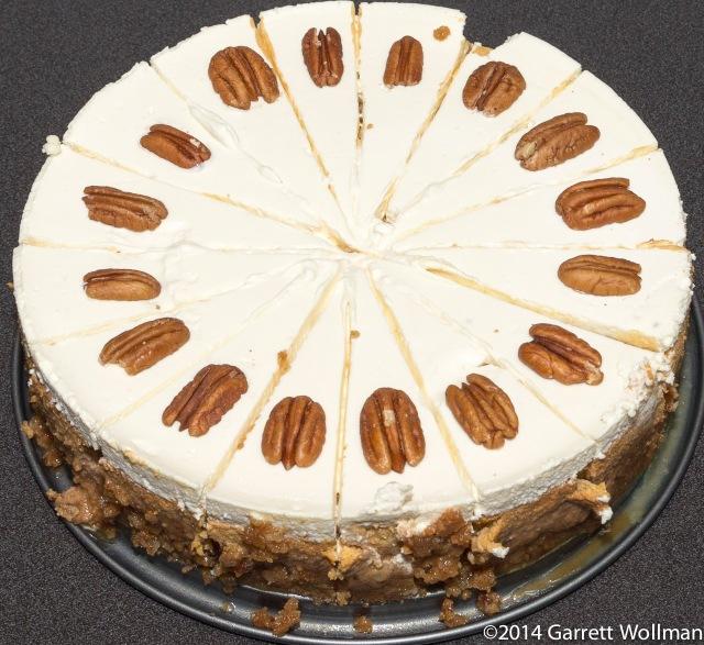 Ramesh Sridharan's Bourbon Pumpkin Cheesecake