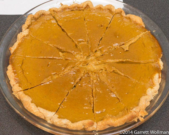 Patrice Macaluso's Brandied Pumpkin Pie