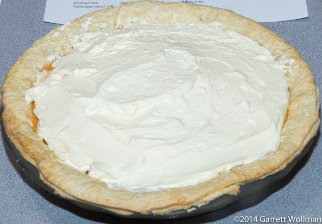 Dorothy Curtis's Sour Cream Pumpkin Chiffon Pie