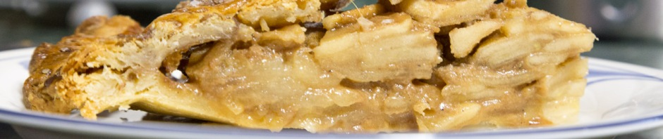 Pie slice in cross-section