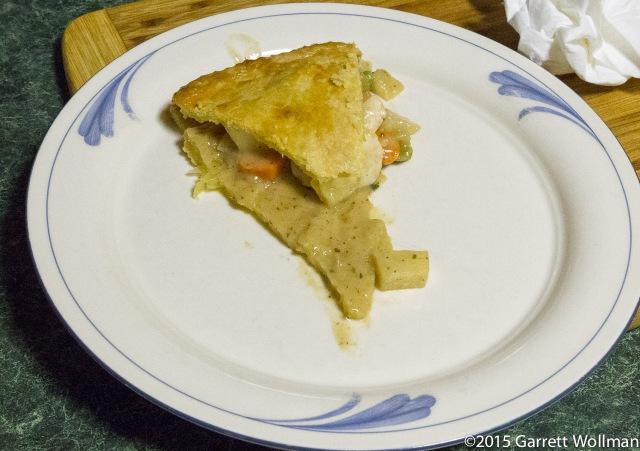 Slice of pot pie
