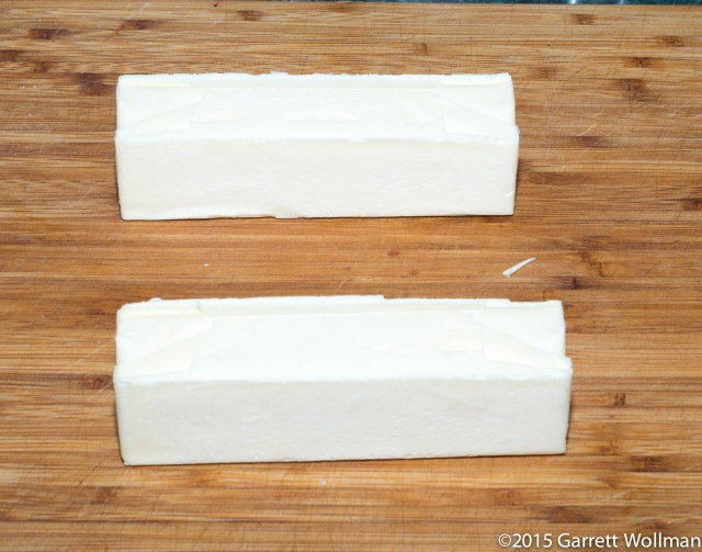 Two sticks of butter