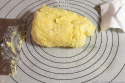 Fully prepared dough