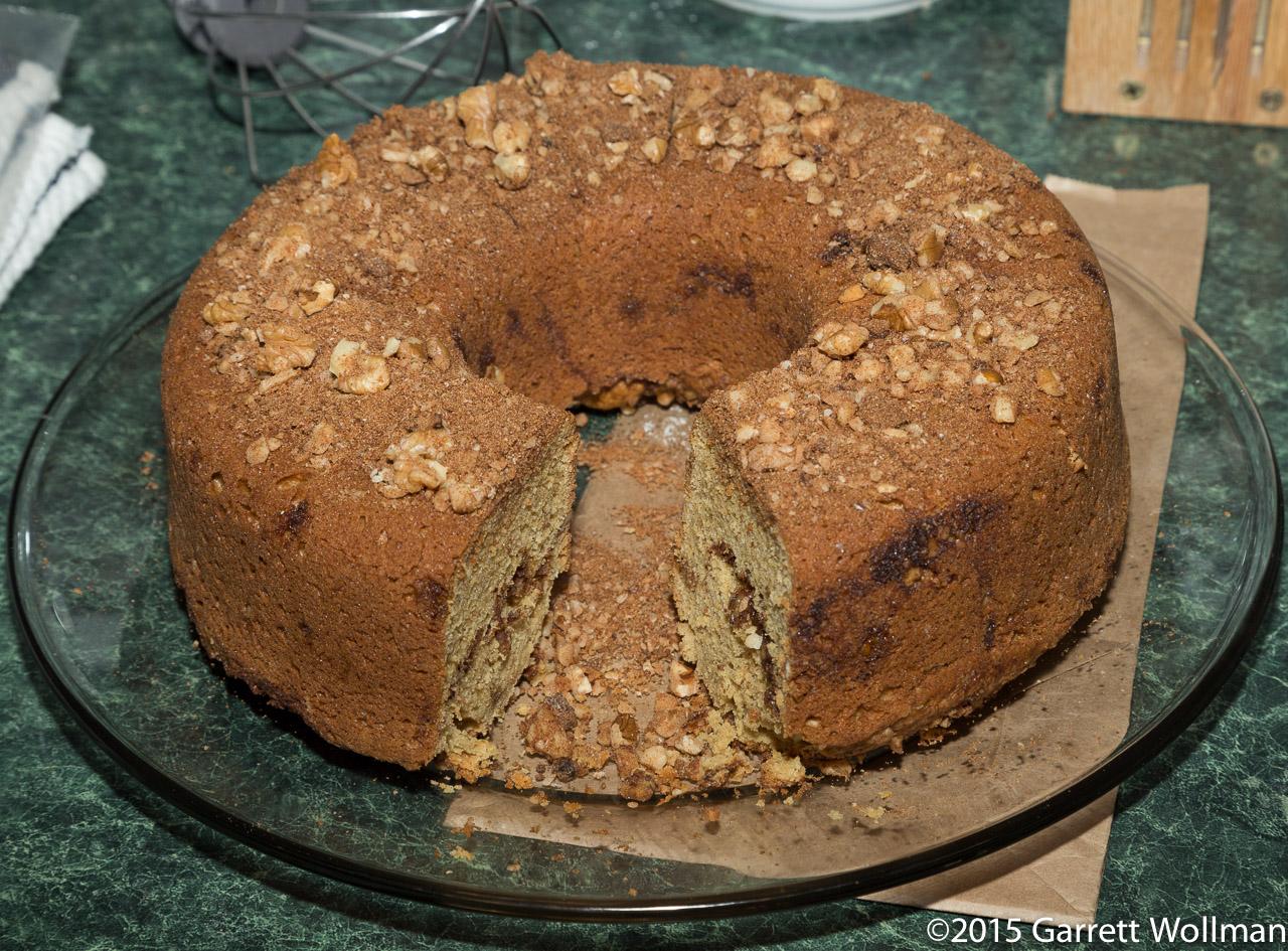 Easy Coffee Cake Recipe King Arthur: Recipe Quick Takes: Sour Cream Coffeecake From The King