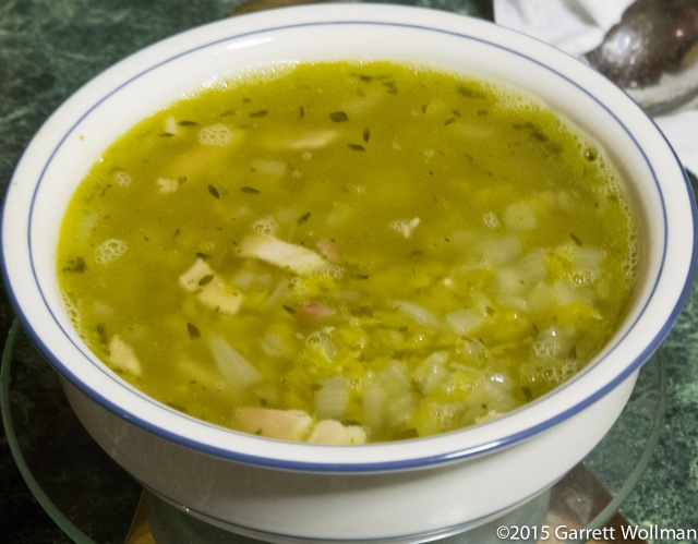 Disappointing pea soup