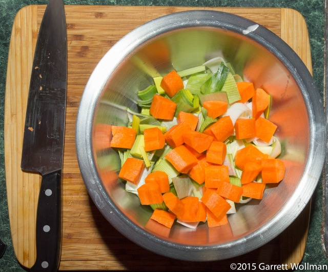 Chopped aromatics