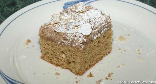 Single piece of cake