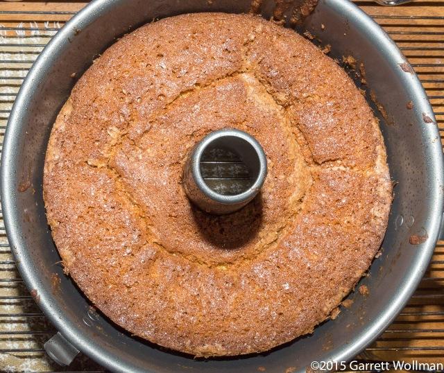 Fully baked cake