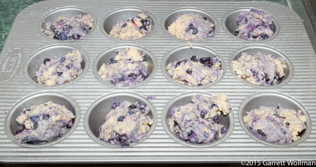 Muffins portioned