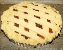 Completed but unbaked tart