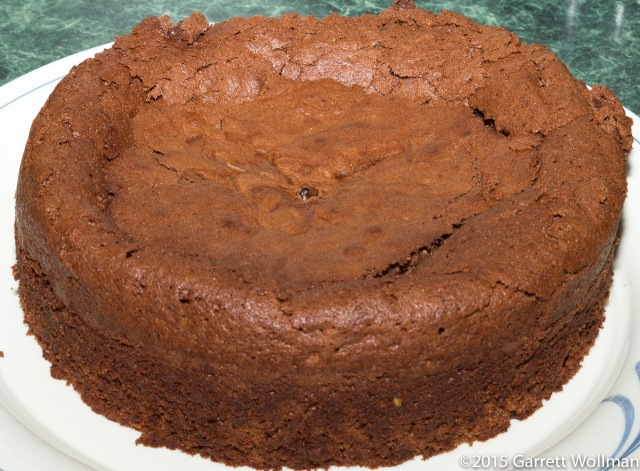 Fully cooled torte, depanned
