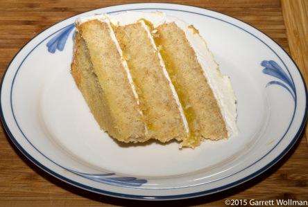One slice of cake