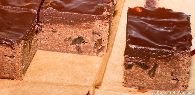 Brownies in cross-section