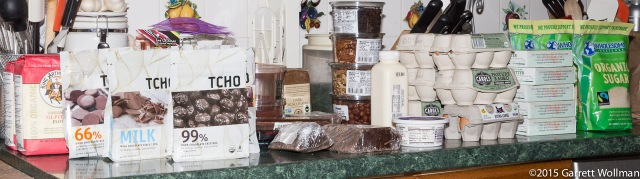 Just some of the ingredients purchased for Browniefest 2015