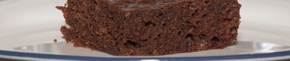 Edge-on view of brownie