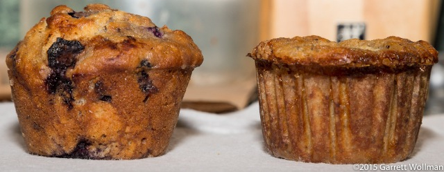 Comparison of muffins