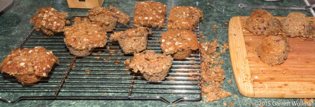 Mess after removing from muffin tin