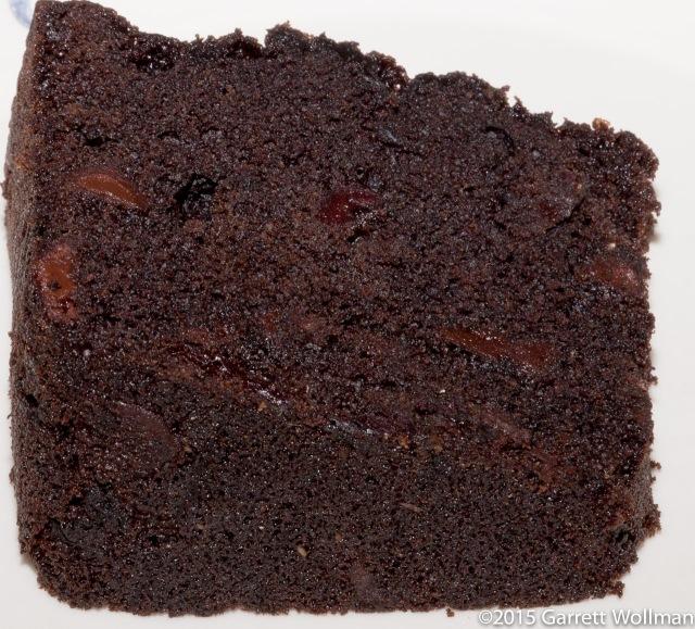 One slice of pound cake