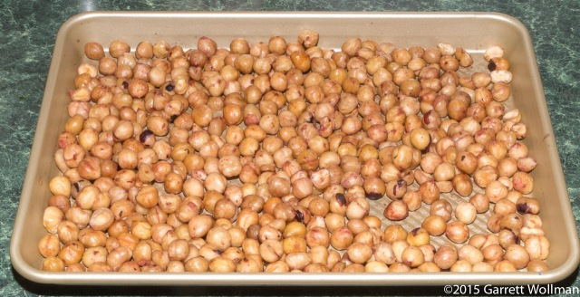 Blanched, toasted hazelnuts