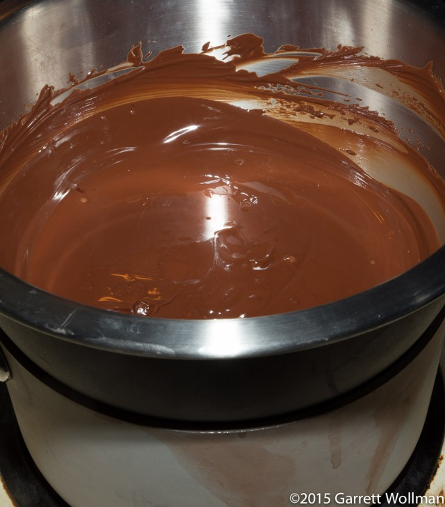 Melting chocolate