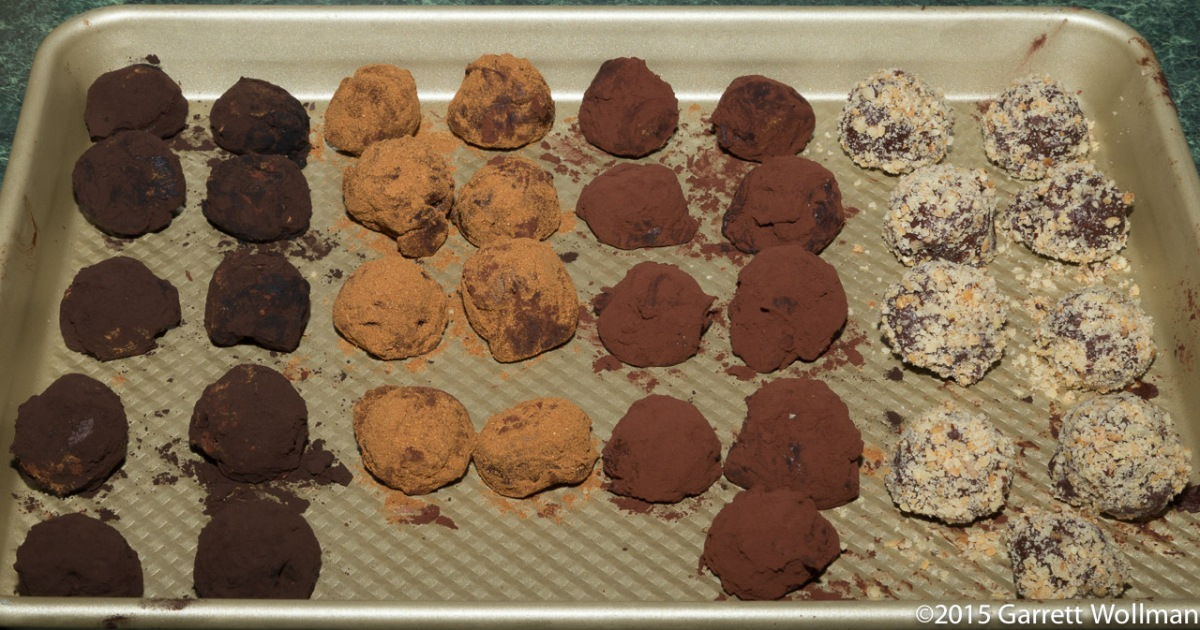 Bittersweet Chocolate Truffles Four Ways | Occasionally ...