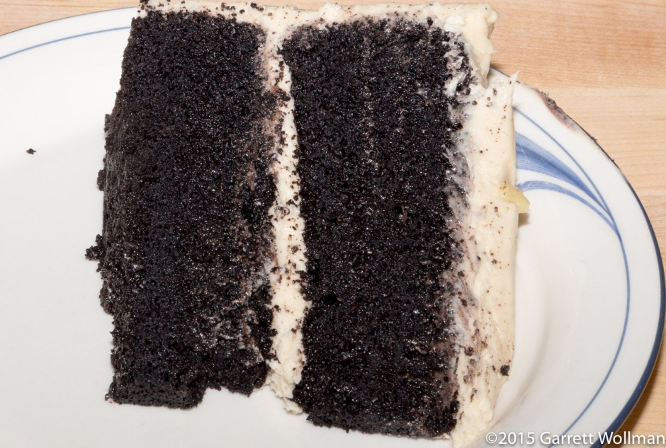 One slice of cake