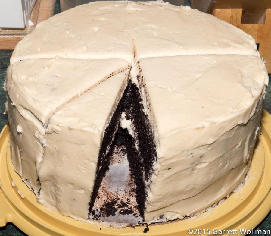 Cake minus one slice