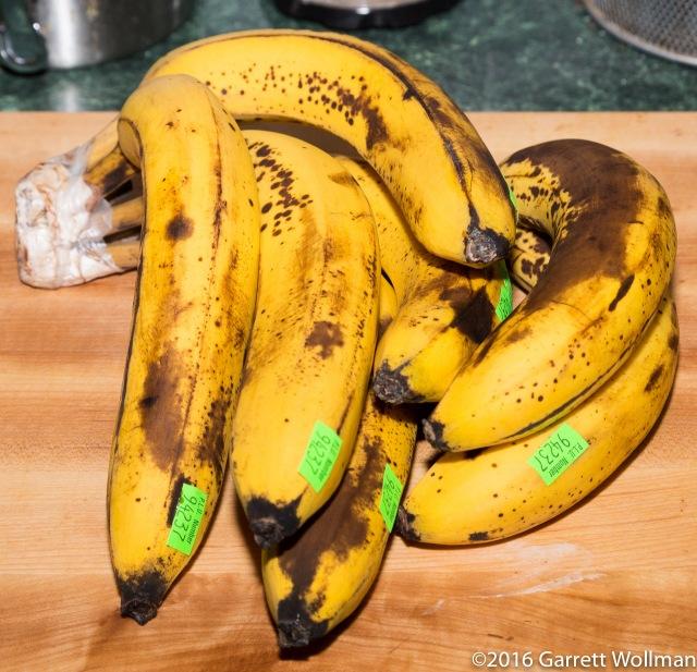 Seven bananas
