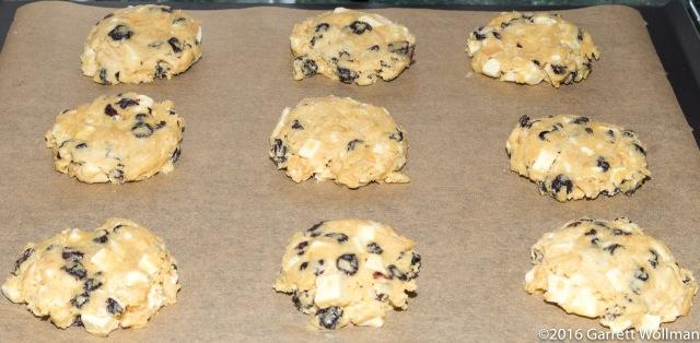Squashed dough balls