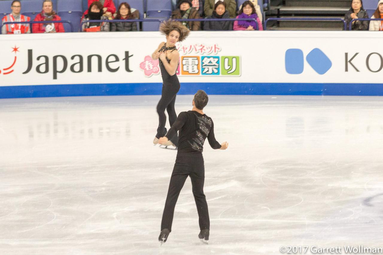 World Skating Championships: Pairs and Mens short