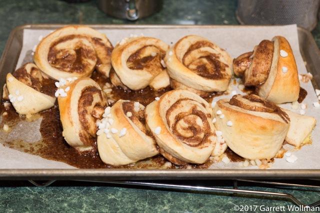 Fully baked (and jumbled) korvapuustia