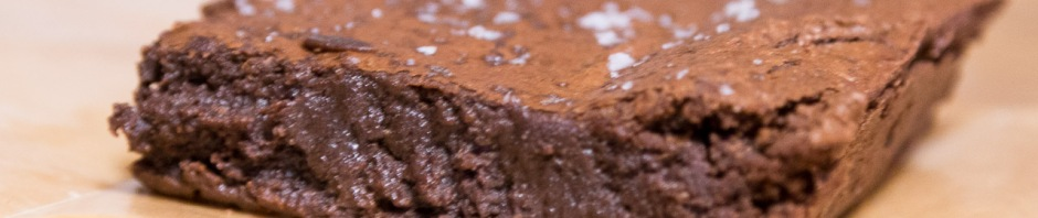 Single brownie, edge on (w/o flash to avoid highlights)