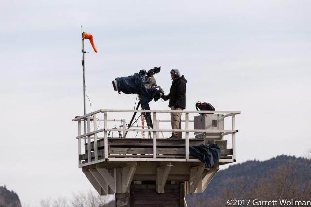 Tower camera operator