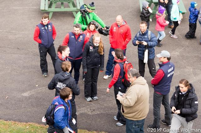 Team GB folks still chatting