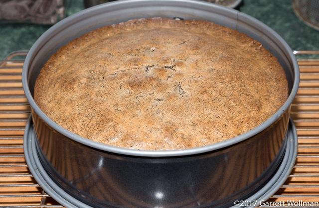 Fully baked mohntorte