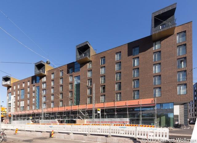 New building on Välimerenkatu