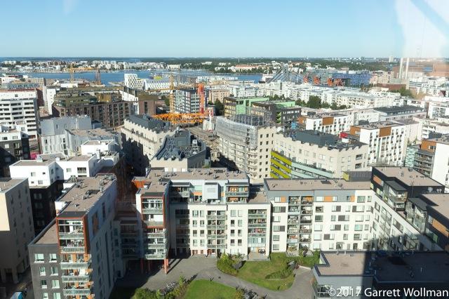 Jätkäsaari rising quickly and colorfully