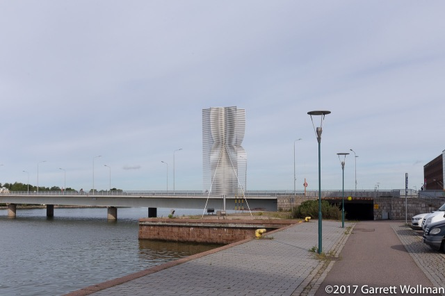 Waterfront sculpture
