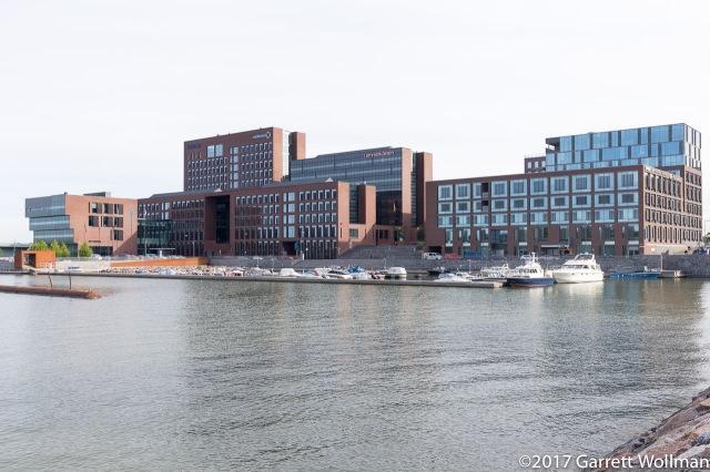 New office buildings in Salmisaari